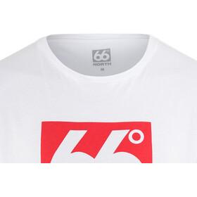 66° North Logn Box Logo t-shirt Heren, white